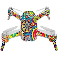Skin For Yuneec Breeze 4K Drone – Flower Wheels | MightySkins Protective, Durable, and Unique Vinyl Decal wrap cover | Easy To Apply, Remove, and Change Styles | Made in the USA
