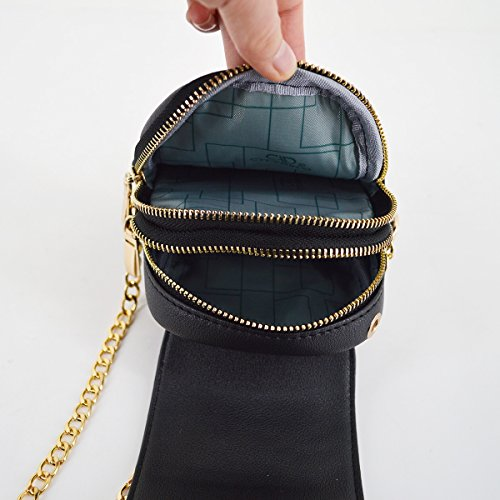Mini Bag Strap Classic Handbag body Shoulder Chain Bag with Monique Women Clutch Bag Cross Satchel Flower Iq15Pw