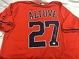 Jose Altuve Autographed Signed Houston Astros Jersey GTSM Altuve Hologram