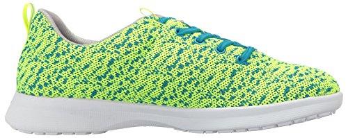 Sneaker Da Donna Di Softwalk In Maglina Color Lime