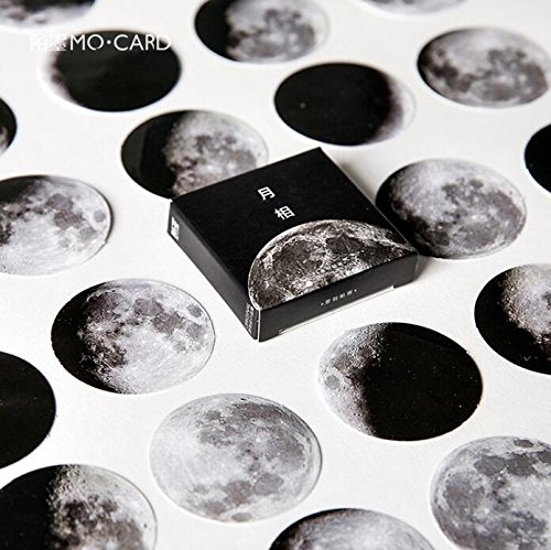 Moon Stickers - 7