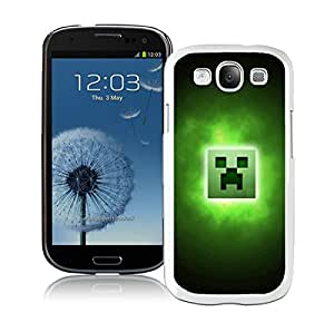 Galaxy S3 Case,Minecraft 33 White For Samsung Galaxy S3 i9300 Case