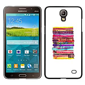 LECELL--Funda protectora / Cubierta / Piel For Samsung Galaxy Mega 2 -- Pancakes blancas abstractas Pastelería Niños --