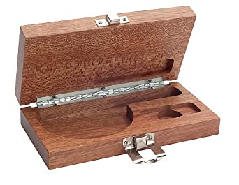 """Brown & Sharpe 599-1-9999 Wooden Case for 0-1""""/0-25mm Outside Micrometer"""