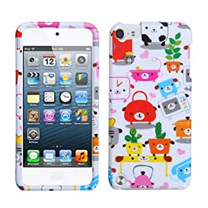 Fits Apple iPod Touch 5 (5th Generation) Snap on Cover Dog Lifestyle