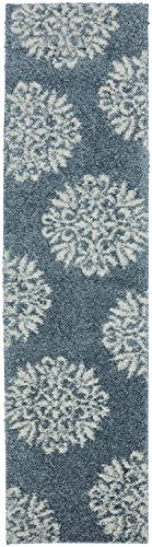 Mohawk Home Huxley Exploded Medallions Woven Rug,  8'x10',  Bay Blue from Mohawk Home