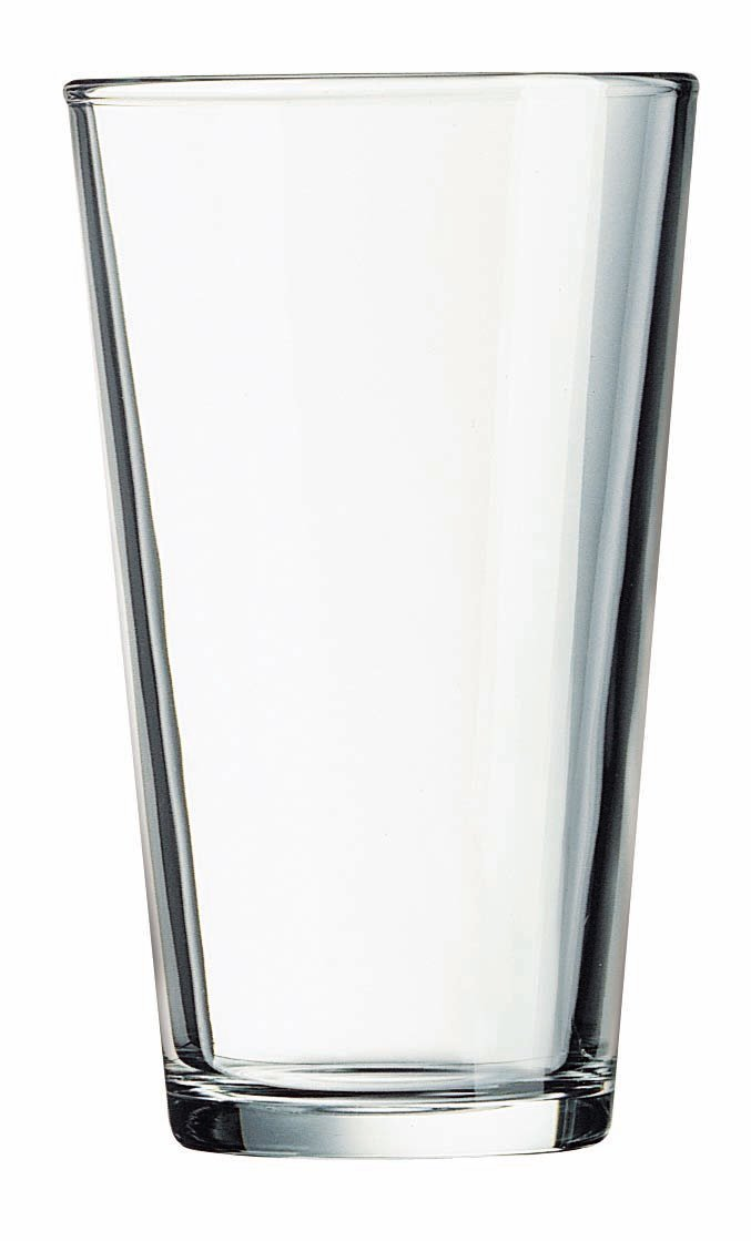 Luminarc Pub Beer Glass, 16-Ounce, Set of 20
