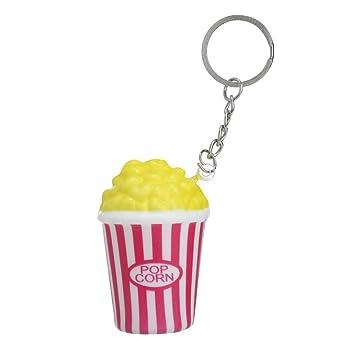 Amazon.com: Show TINE ON Fun Popcorn Llavero Squishies ...