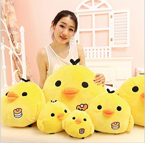 Stuffed Animal Doll Plush Yellow Chicken Hold Pillow Soft Toy New 15cm - Oz China Doll Costume