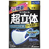 Japan Facemask - (Made in Japan PM2.5 corresponding) supersolid mask virus guard Ag + filter antibacterial normal size 3 + 1 pieces (unicharm) *AF27*