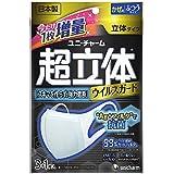 (日本製 PM2.5対応)超立体マスク ウィルスガード Ag+フィルタ抗菌 ふつうサイズ 3+1枚入(unicharm)