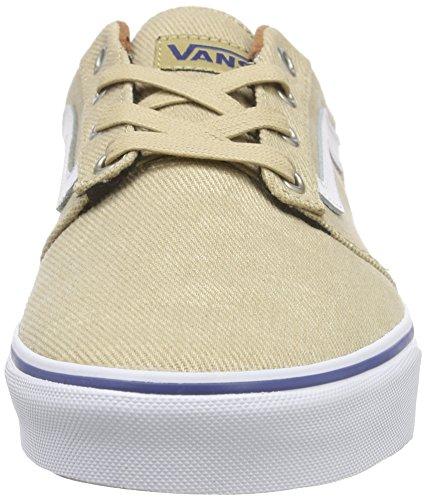 white Beige amp;l Chapman khaki t Vans Stripe Zapatillas Hombre q4Z6a1O4w