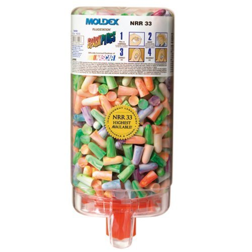 MOLDEX 6645 Sparkplugs Plug station, Earplug Dispenser (Pack of 500) by Moldex