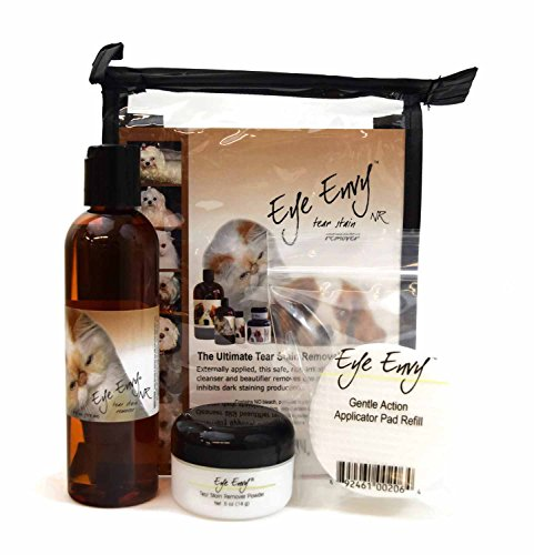 Eye Envy Stain Removal Kit for Pets, 3-Pack