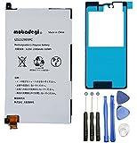 【mobadegi】Xperia Z1f SO-02F LIS1529ERPC 互換バッテリー 工具・両面テープセット