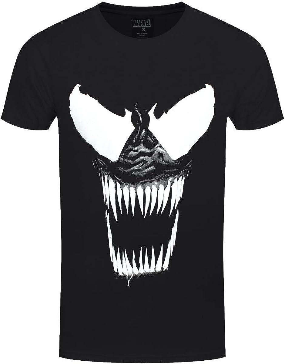 Marvel - Camiseta - para Hombre Negro Negro (XX-Large (para Hombre ...