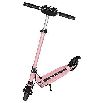 RCB Scooter Eléctrico Plegable Patinete Eléctrico Ultraligero para Adultos y Adolescentes Potente Motor