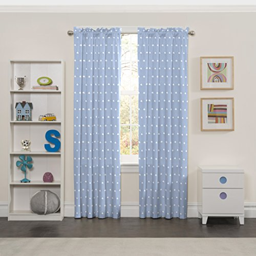 (ECLIPSE Kids Curtains for Bedroom - Cozy Cumulus 42