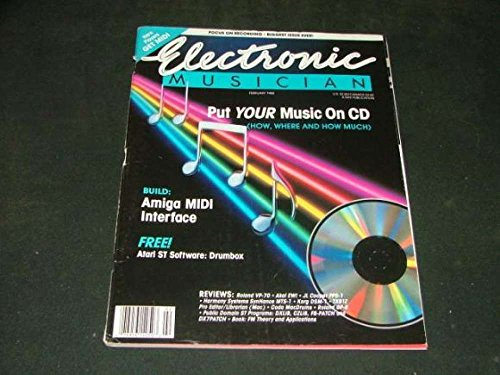 Electronics Musician Big Issue Feb '88 CDs: The New Thing In Music