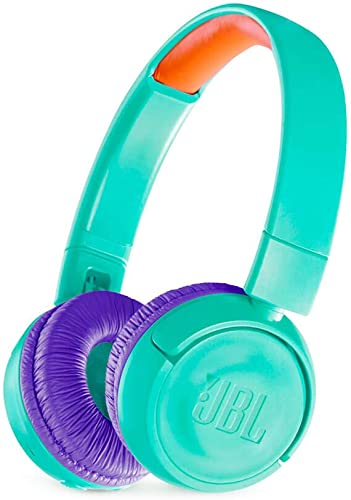 JBL JR 300BT – On-Ear Wireless Headphones for Kids – Teal