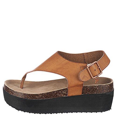 Shiekh Unique-3 Sandal - Tan Size 6