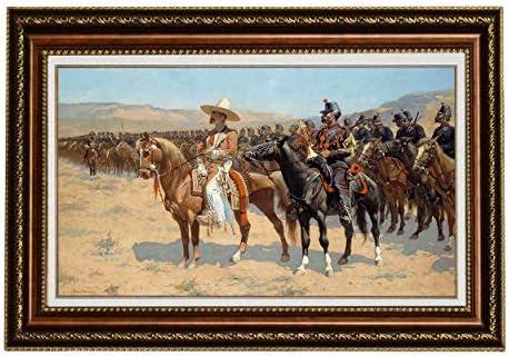 Eliteart-Frederic Remington The Mexican Major