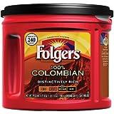 Folgers 100% Colombian Ground Coffee, Medium Dark Roast, 27.8-Ounce (Pack of 3)