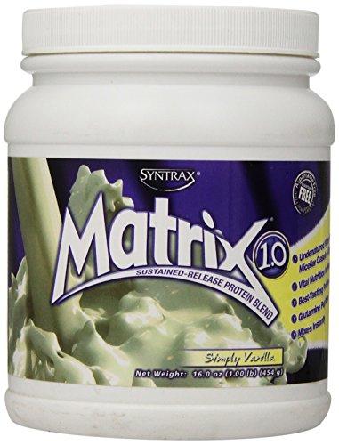 Syntrax Matrix Whey Protein, Simply Vanilla, 1 Pound