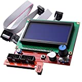FICBOX® LCD Display Smart Controller W/ Adapter For RAMPS1.4 Reprap 3D Printer