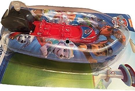 Paw Patrol Bath Toy Mini Wind Motor Boat Pool Games
