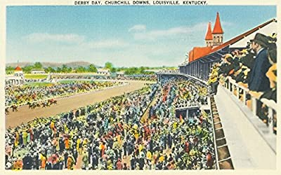 Louisville, Kentucky - Churchill Downs View on Derby Day