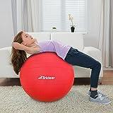 Exercise Ball, Yoga Ball, Birthing Ball with Quick