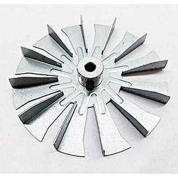 Harman Pellet Pro II Pellet Exhaust Combustion Motor Impeller w//Silicone Gasket PelletStovePro 3-20-40985