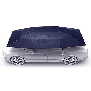 Car Automatic Tent Carport Carport con Control Remoto Plegado Portátil Protección del Automóvil Paraguas A Prueba
