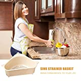 Drain Shelf Sink, Outivity Triangular Sink Basket