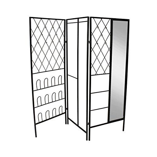 UNIEK Kate and Laurel Tamworth Metal Free Standing Closet...