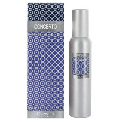 CONCERTO eau de toilette (100ml) Refillable natural spray by FRAGONARD 100% authentic original from PARIS FRANCE