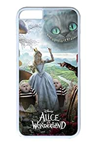 PC White Color Hard Case For iPhone 6 Plus New Version Case Suit iPhone6 Super Beautiful And Ultra thin case Easy To Operate Alice In Wonderland 30