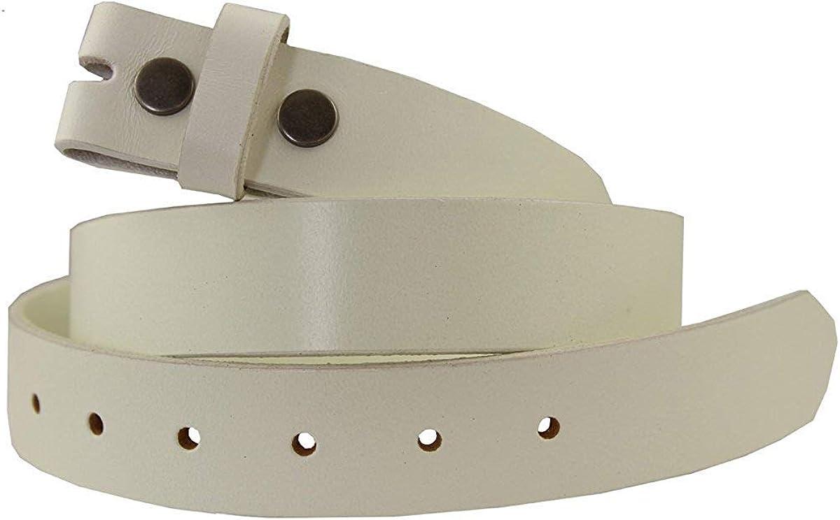 Cream Color Mens Vintage Full Grain Leather Belt Strap 1-1//4 Wide