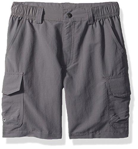 White Sierra Boy's Rocky Ridge Shorts, Castle Rock, Large