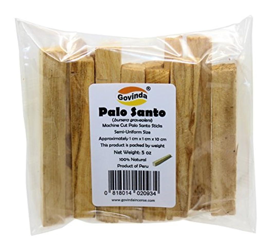 ファウル解釈する回復GovindaプレミアムPalo Santo Holy Wood Incense Sticks 5オンスパックfor purifying、クレンジング、ヒーリング、瞑想、Stress Relief。100 %天然