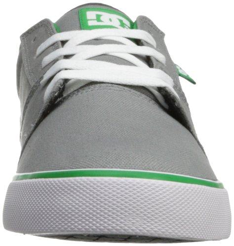 DC Shoes Tonik TX Mens Shoe D0303111 - Zapatillas de tela para hombre Grey/Green