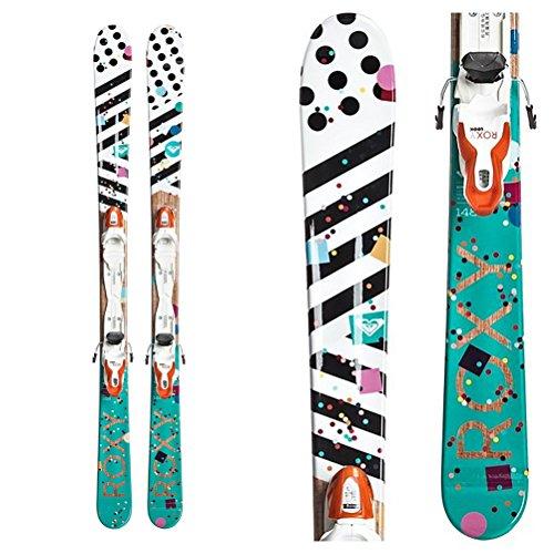 Roxy Bonbon Kids Skis with Xpress 7 Bindings