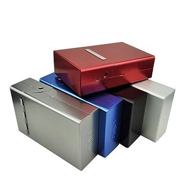 Amazon.com: Funda de aluminio para cigarrillos tamaño King ...