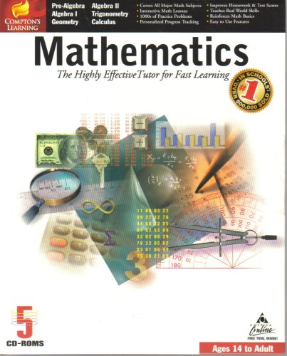 Mathematics: Ages 14 to Adult [ Windows 95/98 and 3 1 ] { 5 CD-ROM