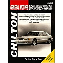 Chilton Bonneville/Eighty Eight/Lesabre 1986-1999 Repair Manual (28200)