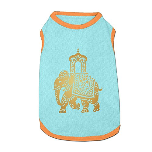 Agilitynoun Dog T-Shirt Clothes Golden India Treasure Elephant Doggy Puppy Tank Top Pet Cat Coats Outfit Jumpsuit Hoodie