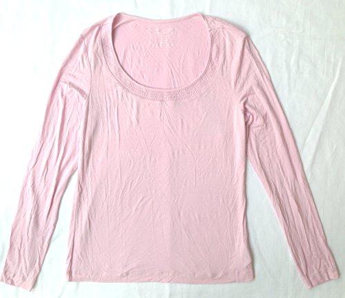 UPC 667434145662, Nautica women Long Sleeve Fairytale Comfort Tee Small