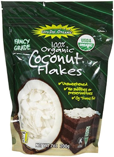 Let's Do Organic Unsweetend Coconut FlakesPouches - 7 oz by Let's Do Organic (Image #2)