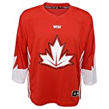 Adidas Team Canada World Cup Of Hockey Red Jersey Kids Size 4-7